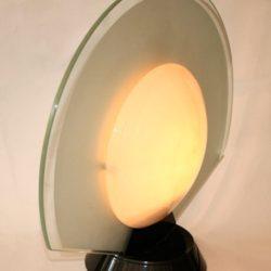 The image for Valerie Wade Lt456 1950S Italian Sun Moon Lamp 03