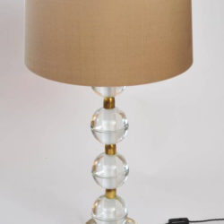 The image for Valerie Wade Lt628 Pair Murano Glass Ball Lamps 02