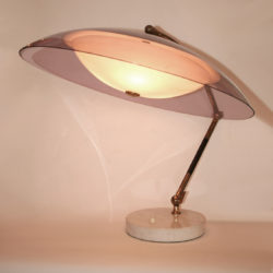 The image for Valerie Wade Lt629 1950S Italian Articulated Dome Lamp Stilux 01