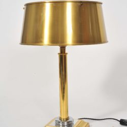 The image for Valerie Wade Lt671 Pair 1950S French Brass Lamps 02