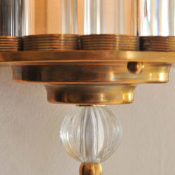 The image for Valerie Wade Lw231 Italian Venini Ball Wall Lights 03