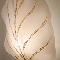 The image for Valerie Wade Lw362 Murano Glass Leaf Wall Lights 03