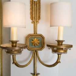 The image for Valerie Wade Lw413 1930S French Times Arrow Wall Lights 02