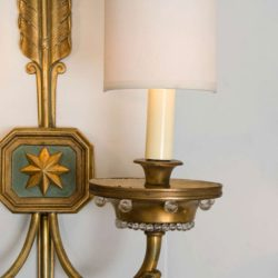 The image for Valerie Wade Lw413 1930S French Times Arrow Wall Lights 04