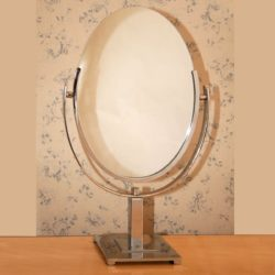 The image for Valerie Wade Mt467 1950S American Oval Table Mirror 01