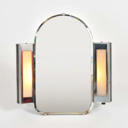 The image for Valerie Wade Mt626 1930S Us Art Deco Illuminated Dressing Table Mirror 01