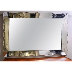 The image for Valerie Wade Mw236 1950S French Rectangular Mirror 02