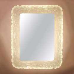 The image for Valerie Wade Mw483 1960S Rare Italian Back Lit Mirror 01