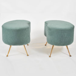 The image for Valerie Wade Two Upholstered Stools 01