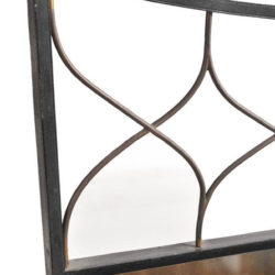 The image for Valerie Wade Wrought Iron Mirror 03 Dibs L
