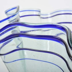 The image for Wave Glass Vase Iv