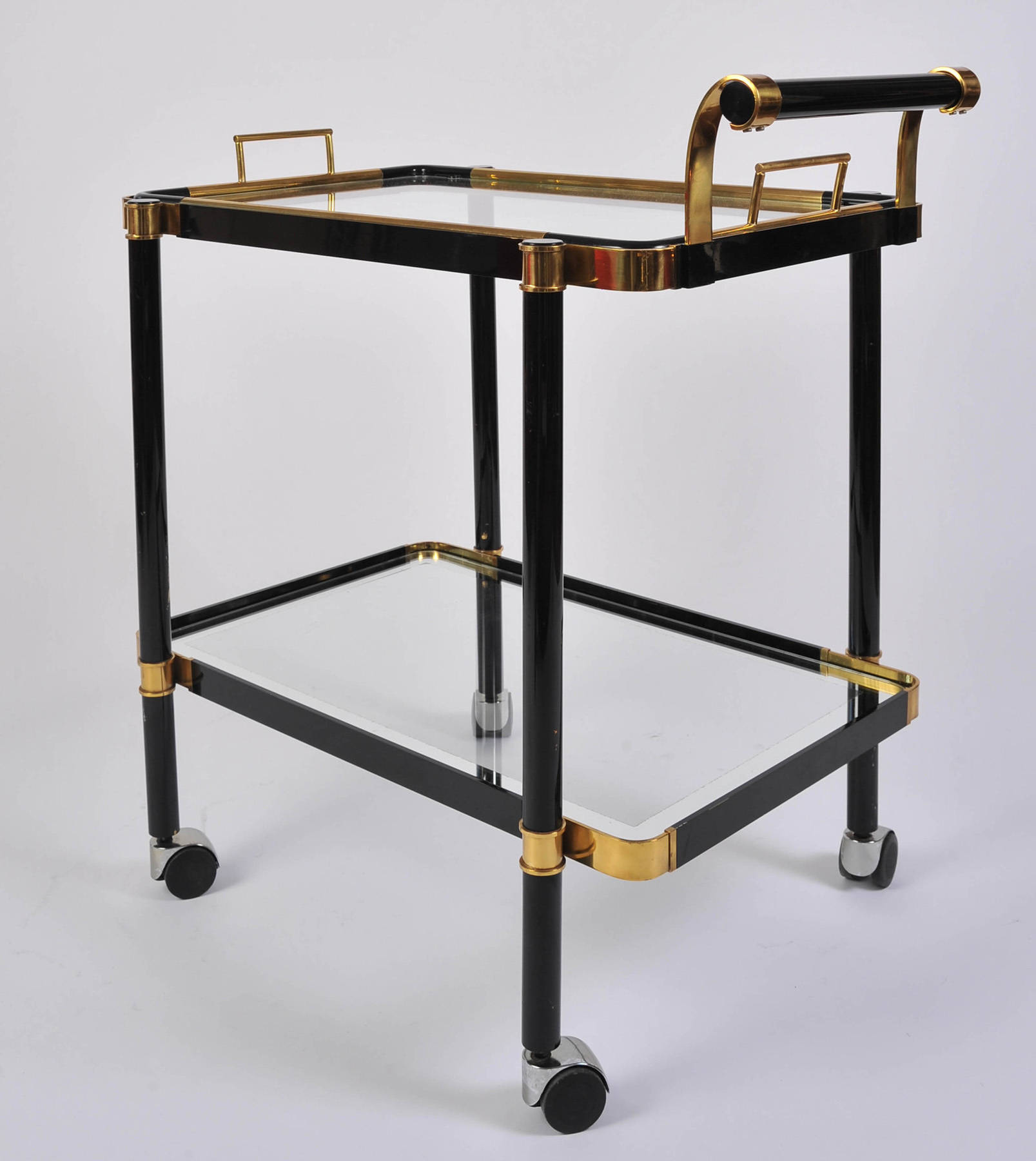 Black Drinks Trolley 01