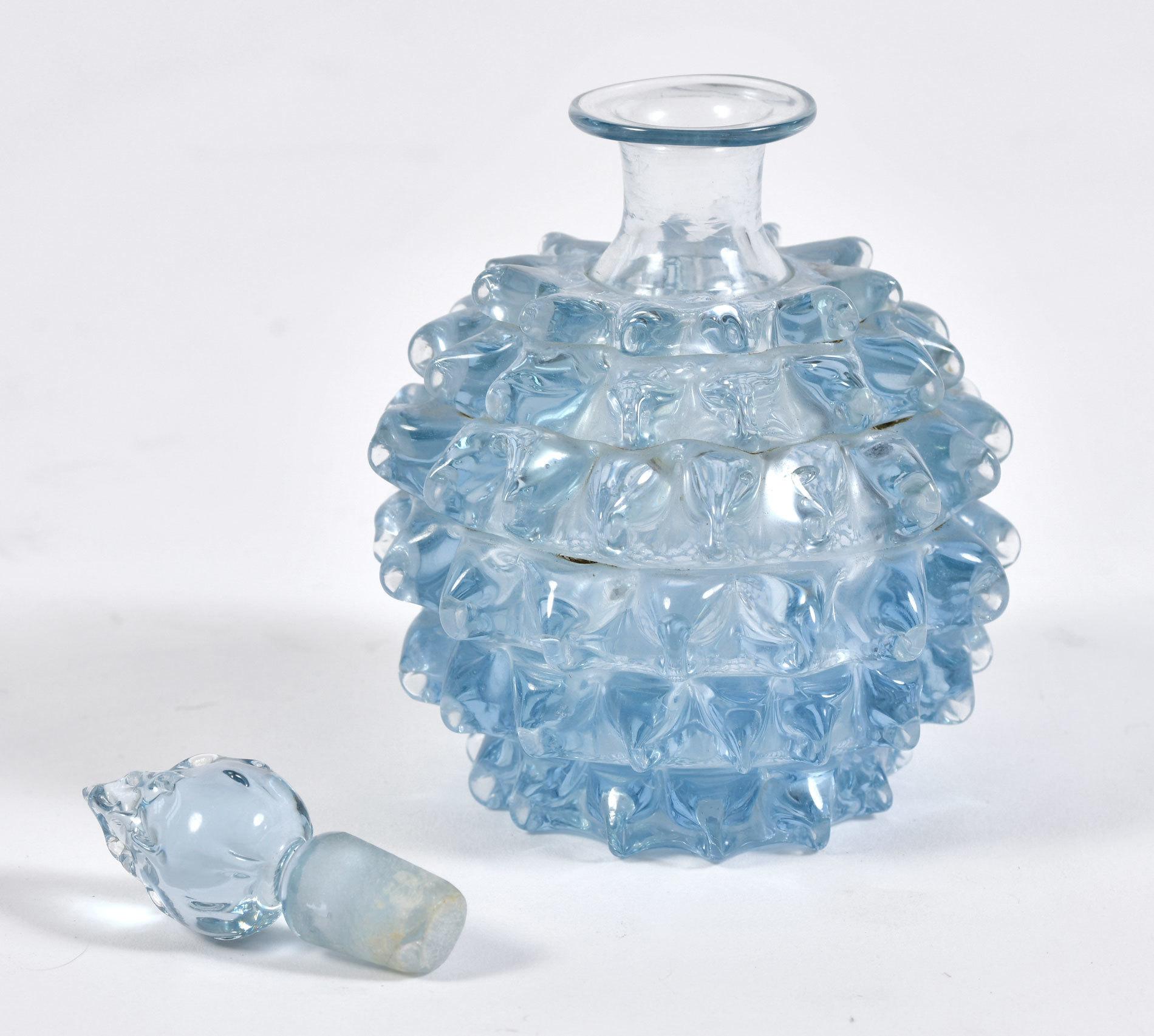 Blue Murano Scent Bottle 02