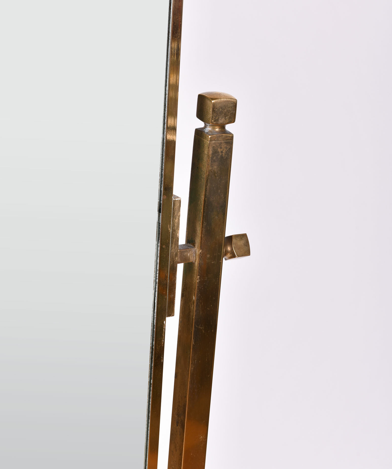The image for Brass Dressing Mirror 03