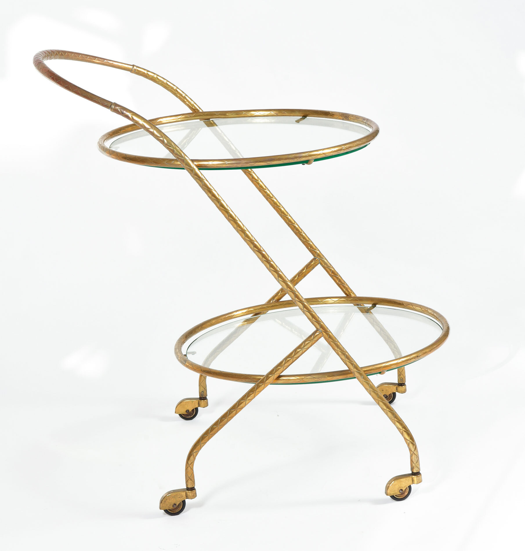 Circular Drinks Trolley 02