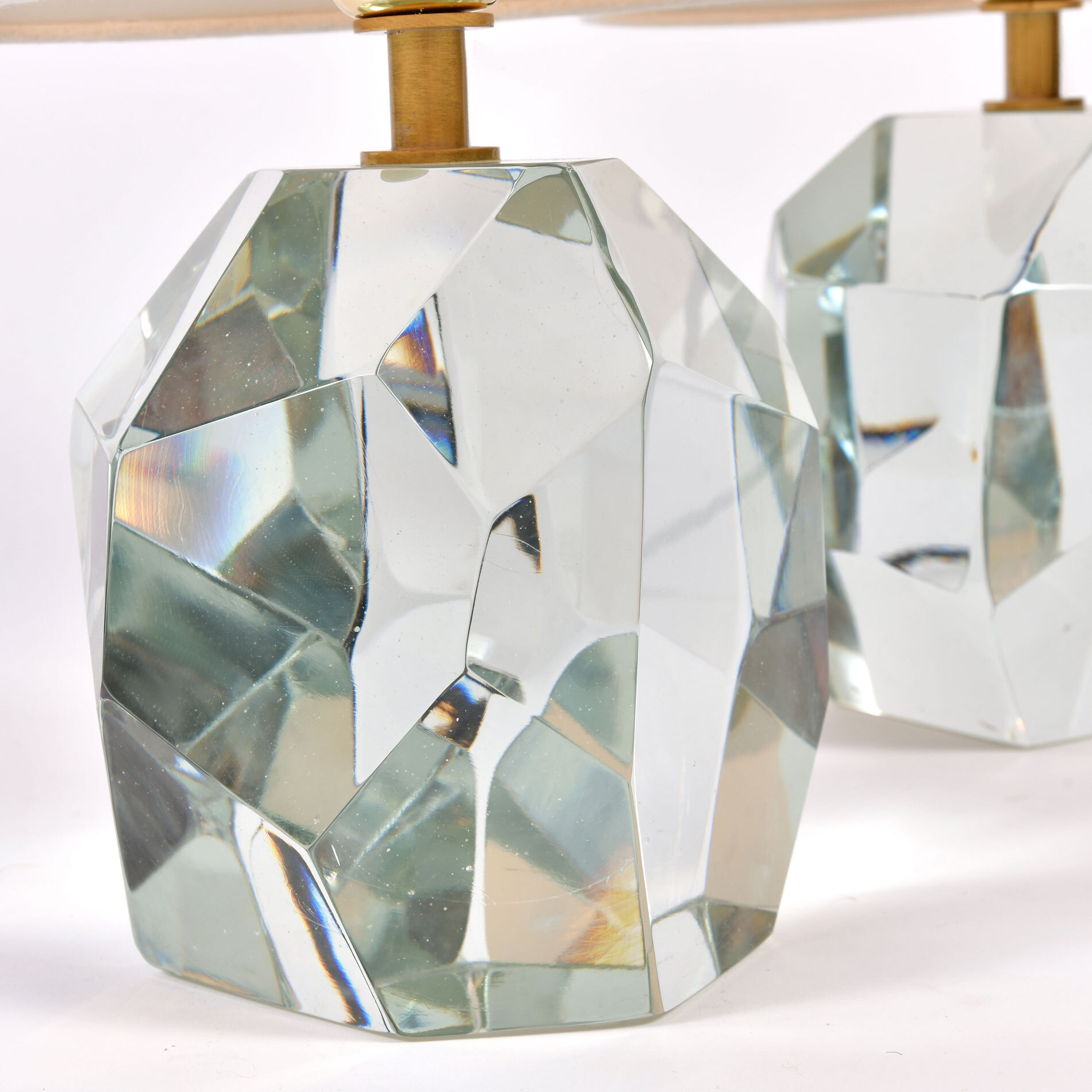 Clear Rock Lamps Close Up 01