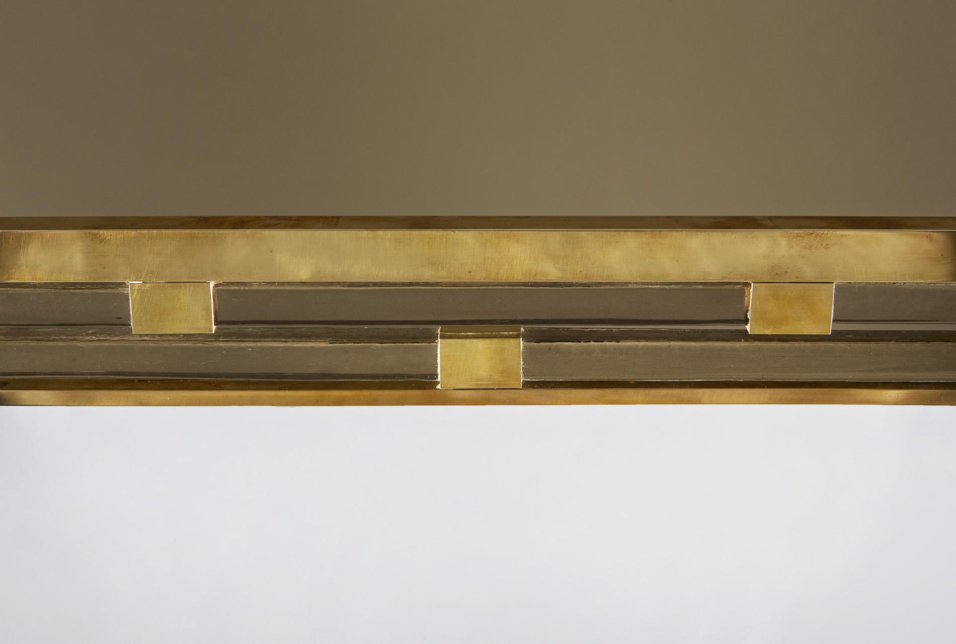 Gold Glass Mirror 0166 V1