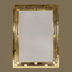 The image for Gold Glass Mirror 0155 V1
