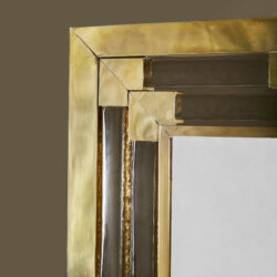 The image for Gold Glass Mirror 0165 V1