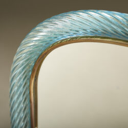 The image for Turquoise Murano Glass Mirror 20210126 Valerie Wade 0134 V1