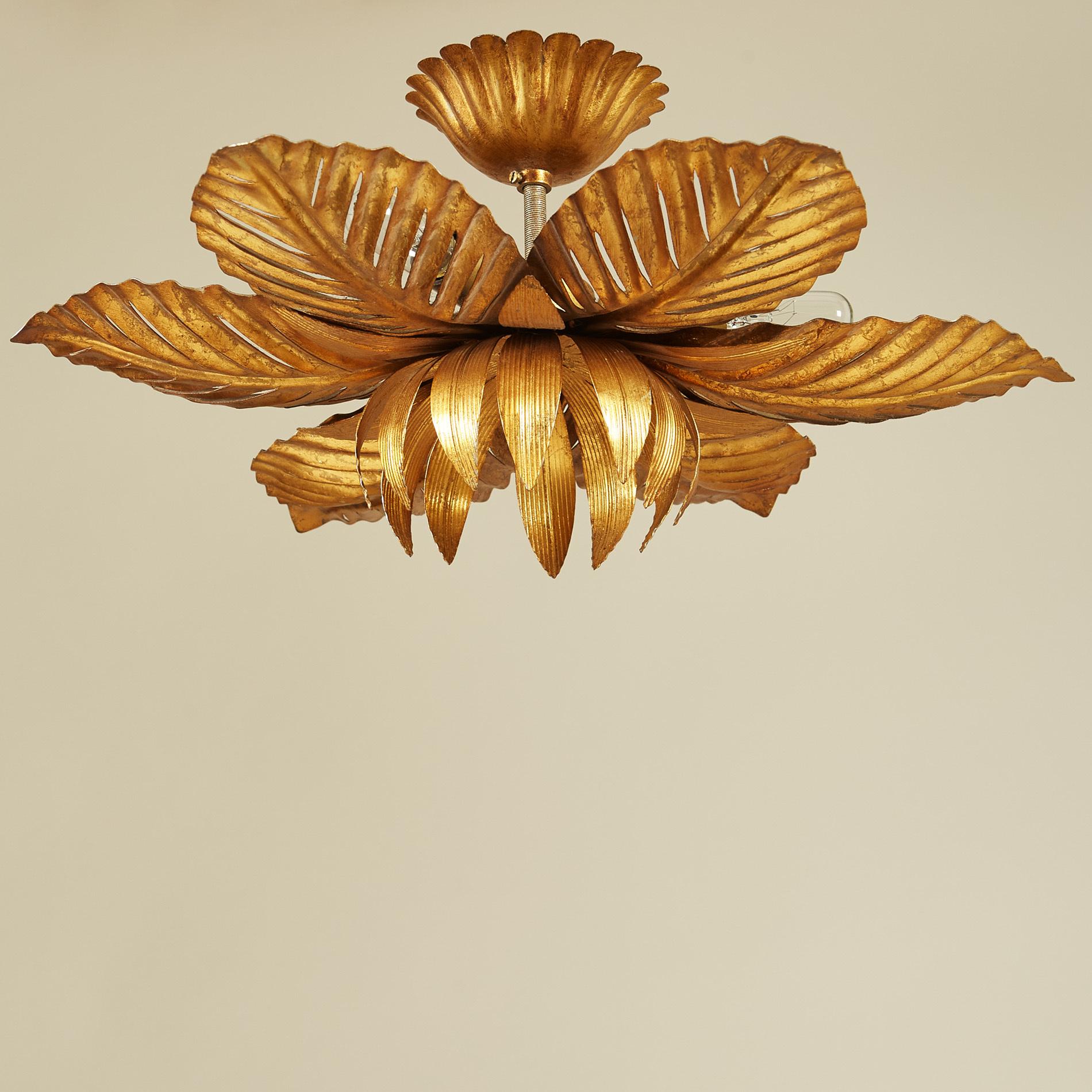 Palm Leaf Pendant Light 0115 V1