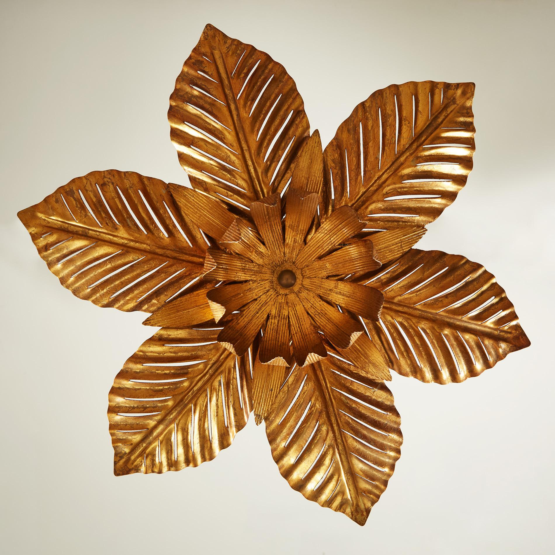 Palm Leaf Pendant Light 0117 V1