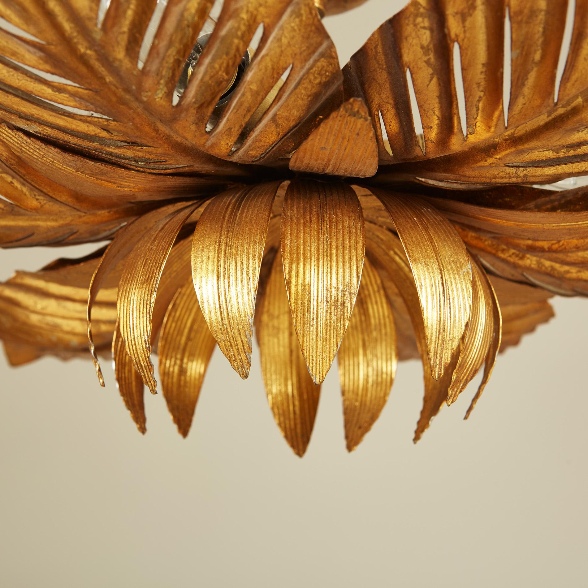 Palm Leaf Pendant Light 0118 V1