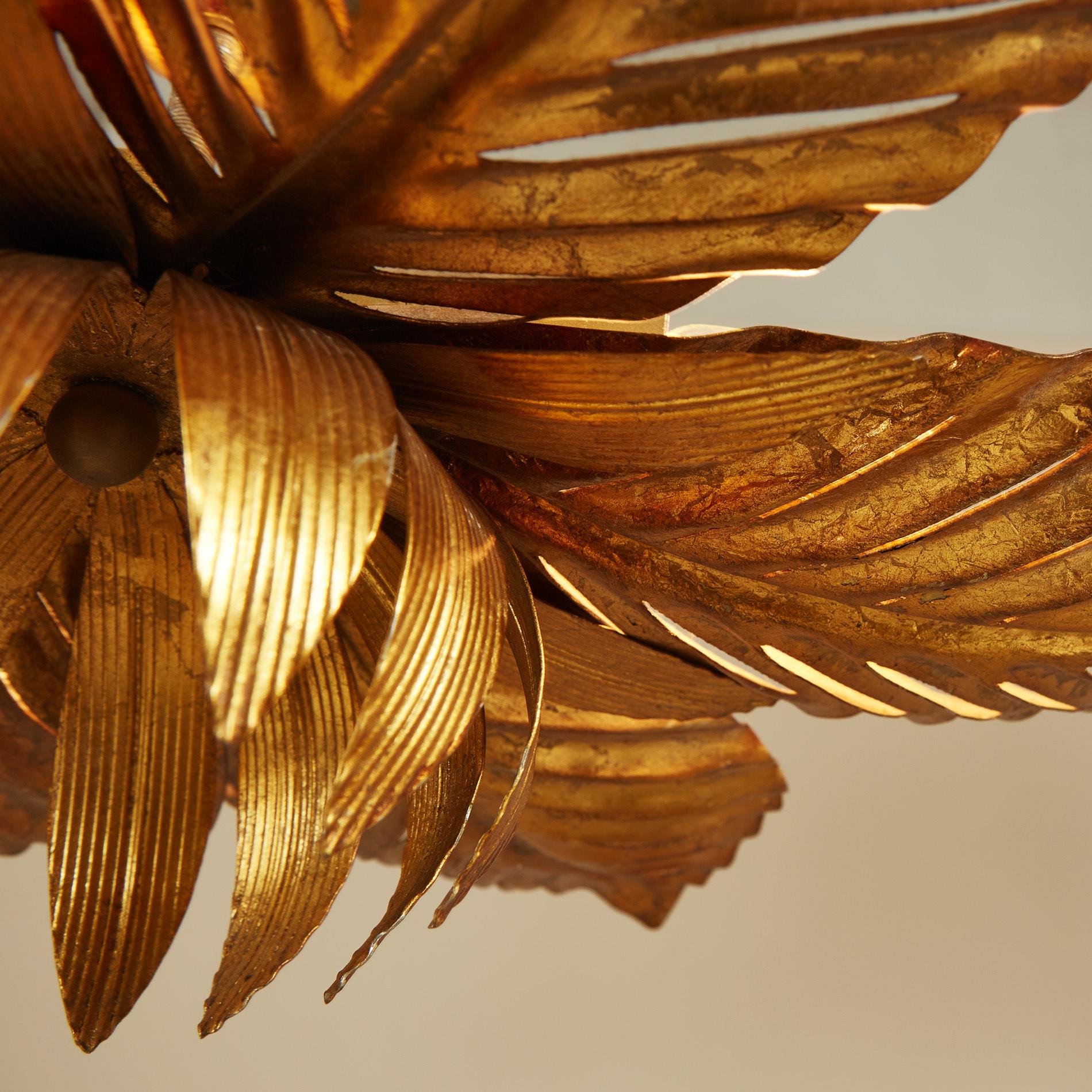 Palm Leaf Pendant Light 0126 V1