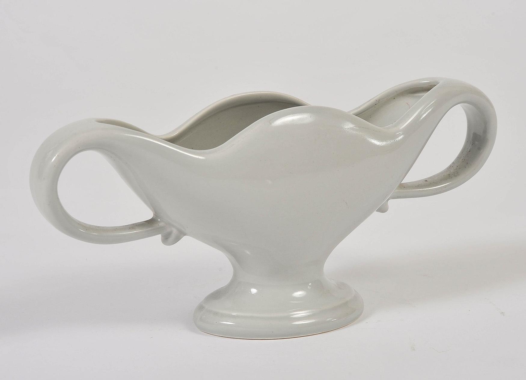 Fulham Vase Blue Grey 5