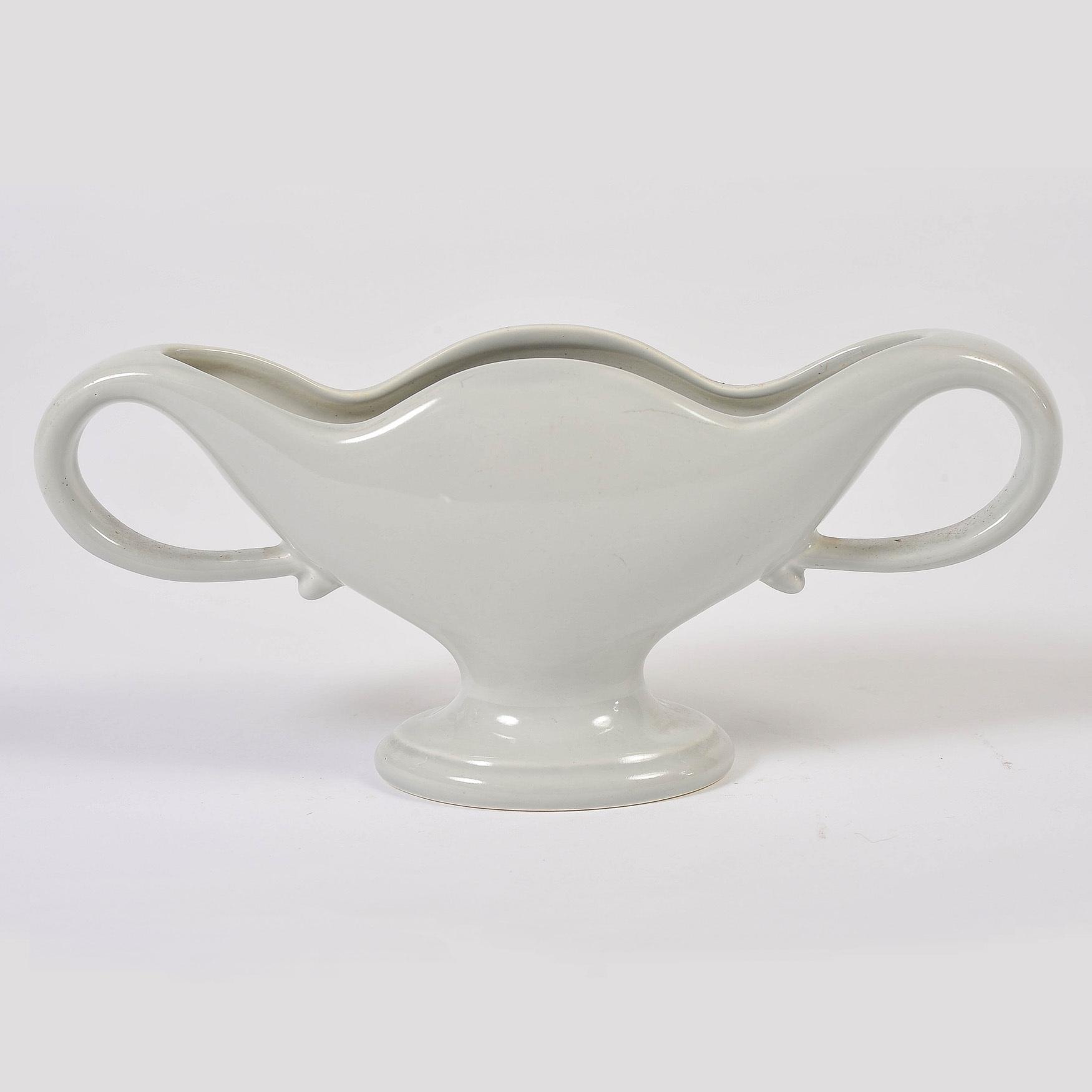 Fulham Vase Blue Grey Main