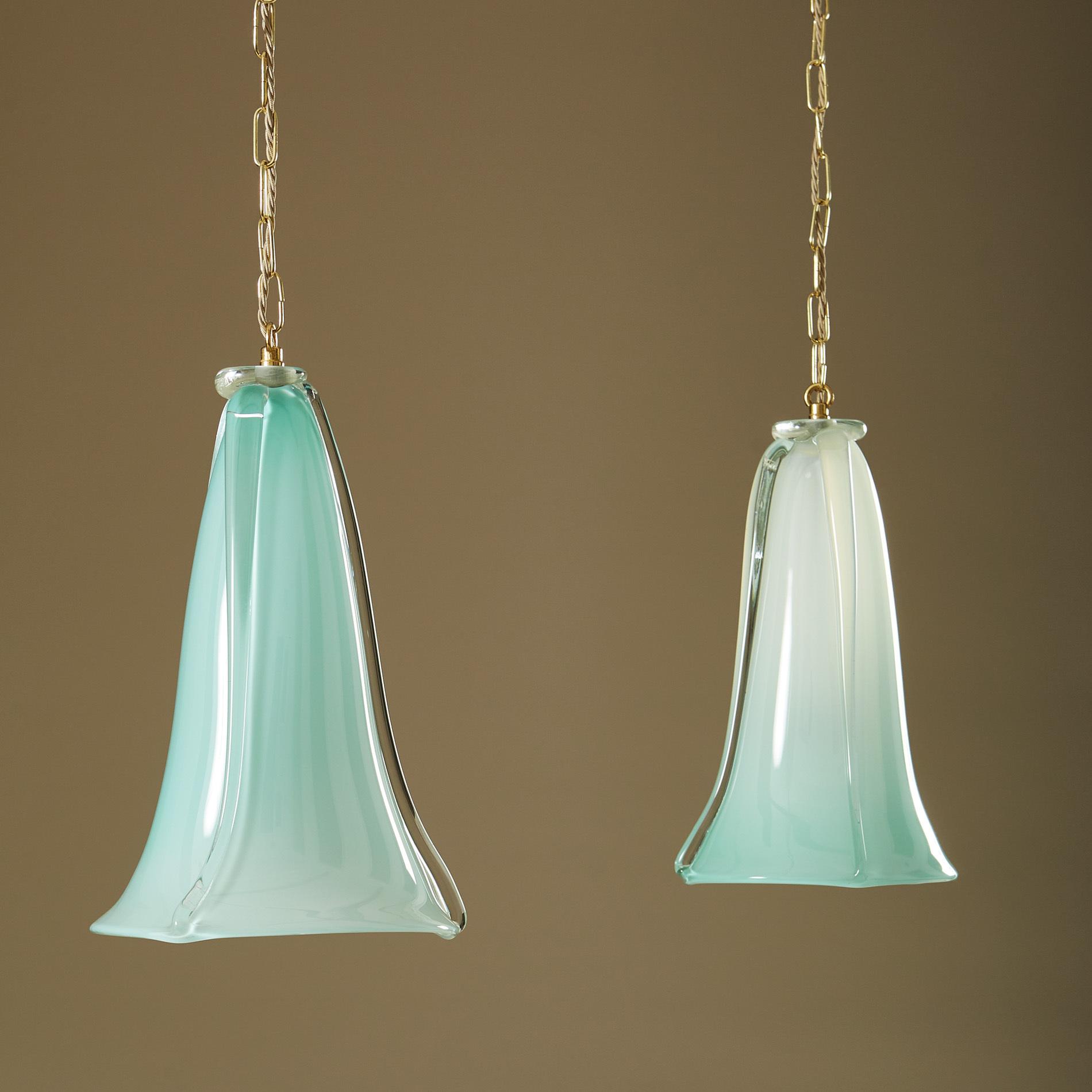 Turquoise Murano Pendants 241 V1
