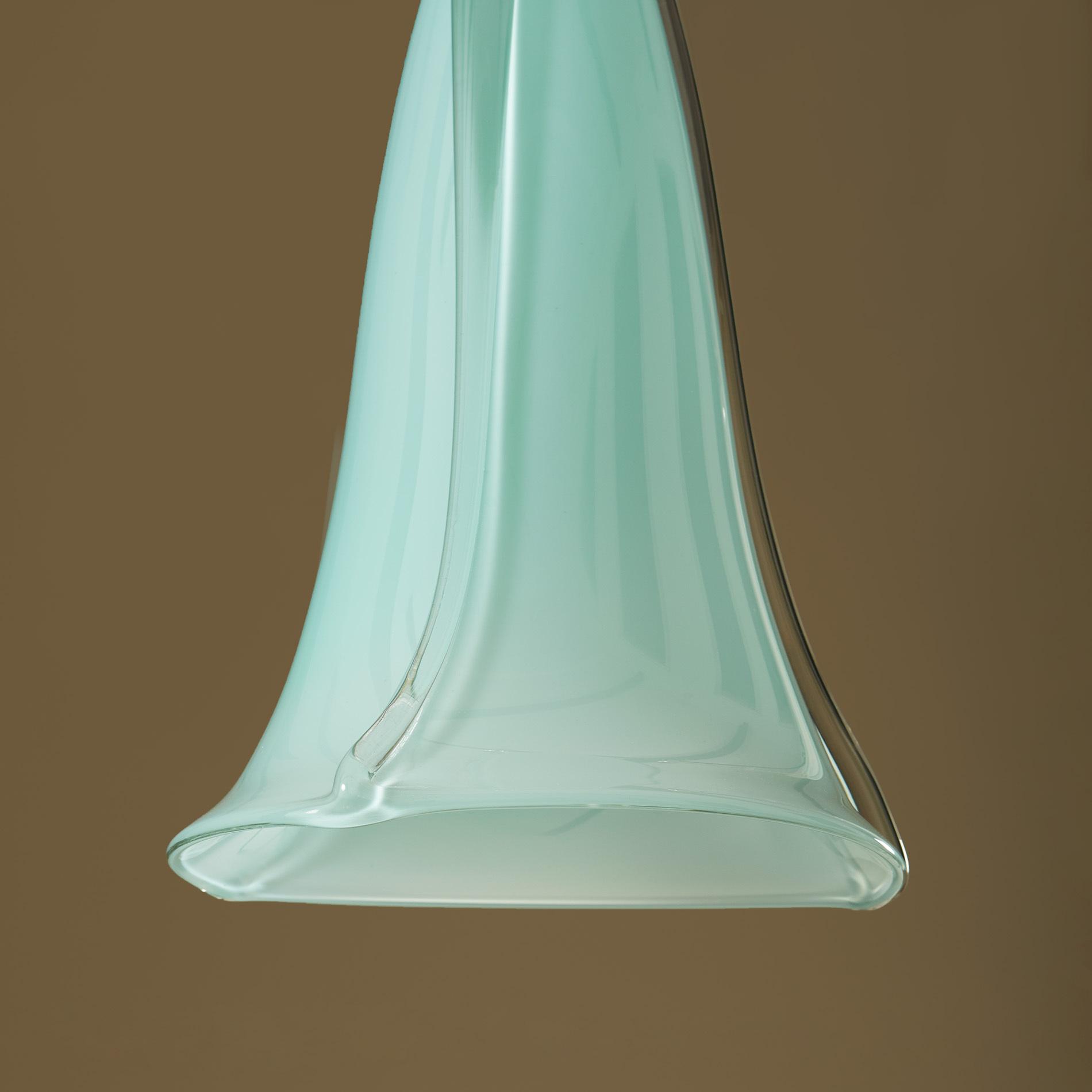 Turquoise Murano Pendants 244 V1