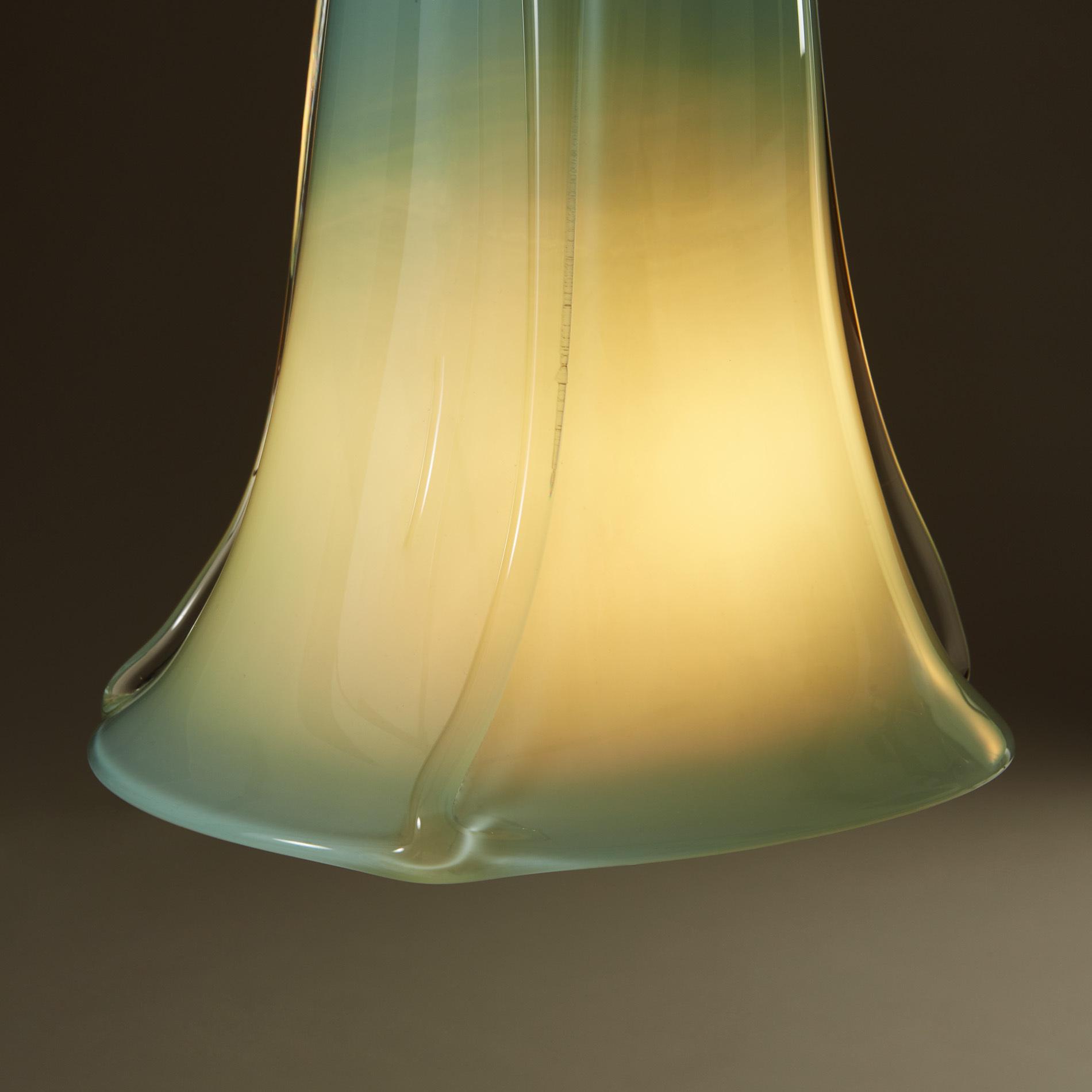 Turquoise Murano Pendants 251 V1