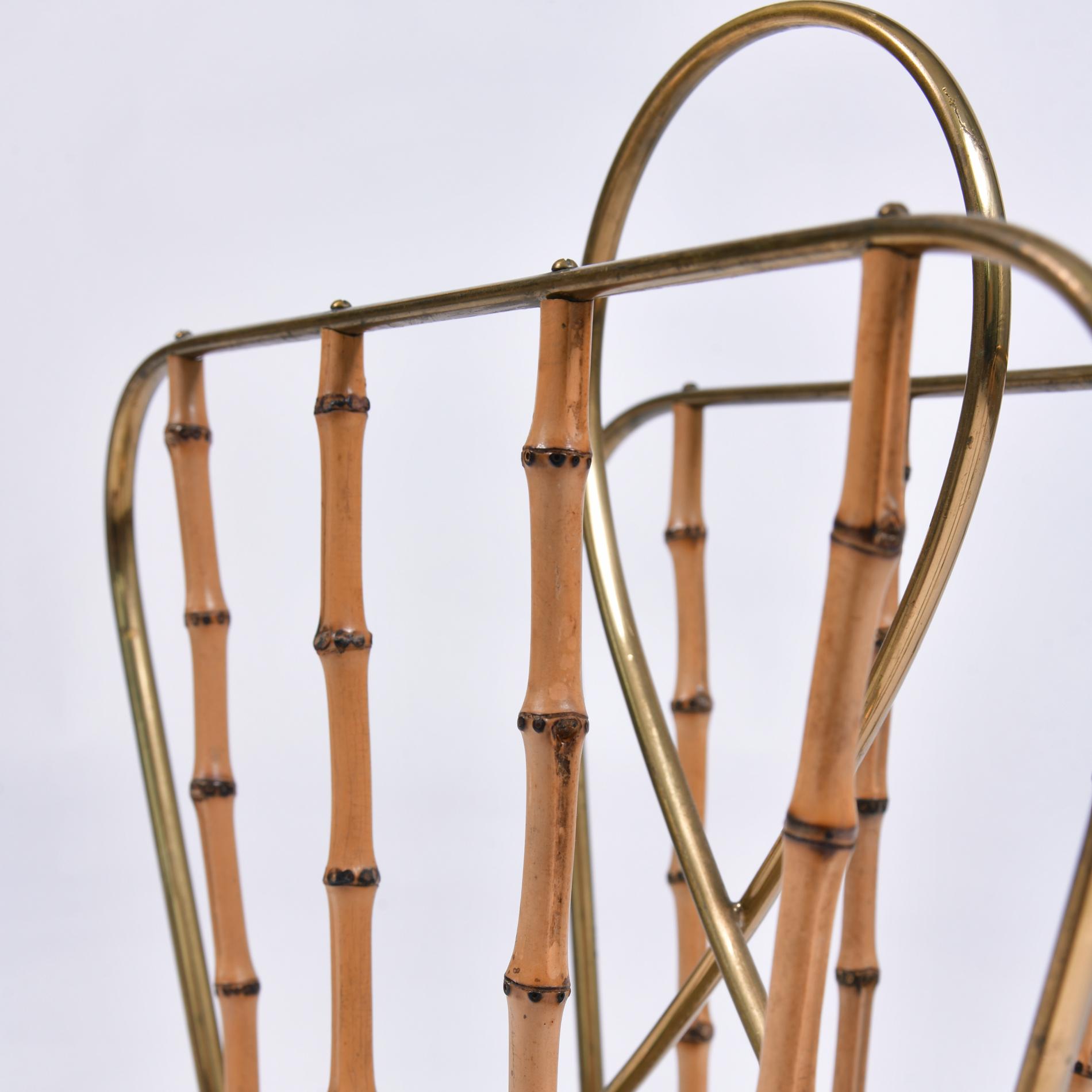 Italian Bamboo Magazine Rack 3 Final