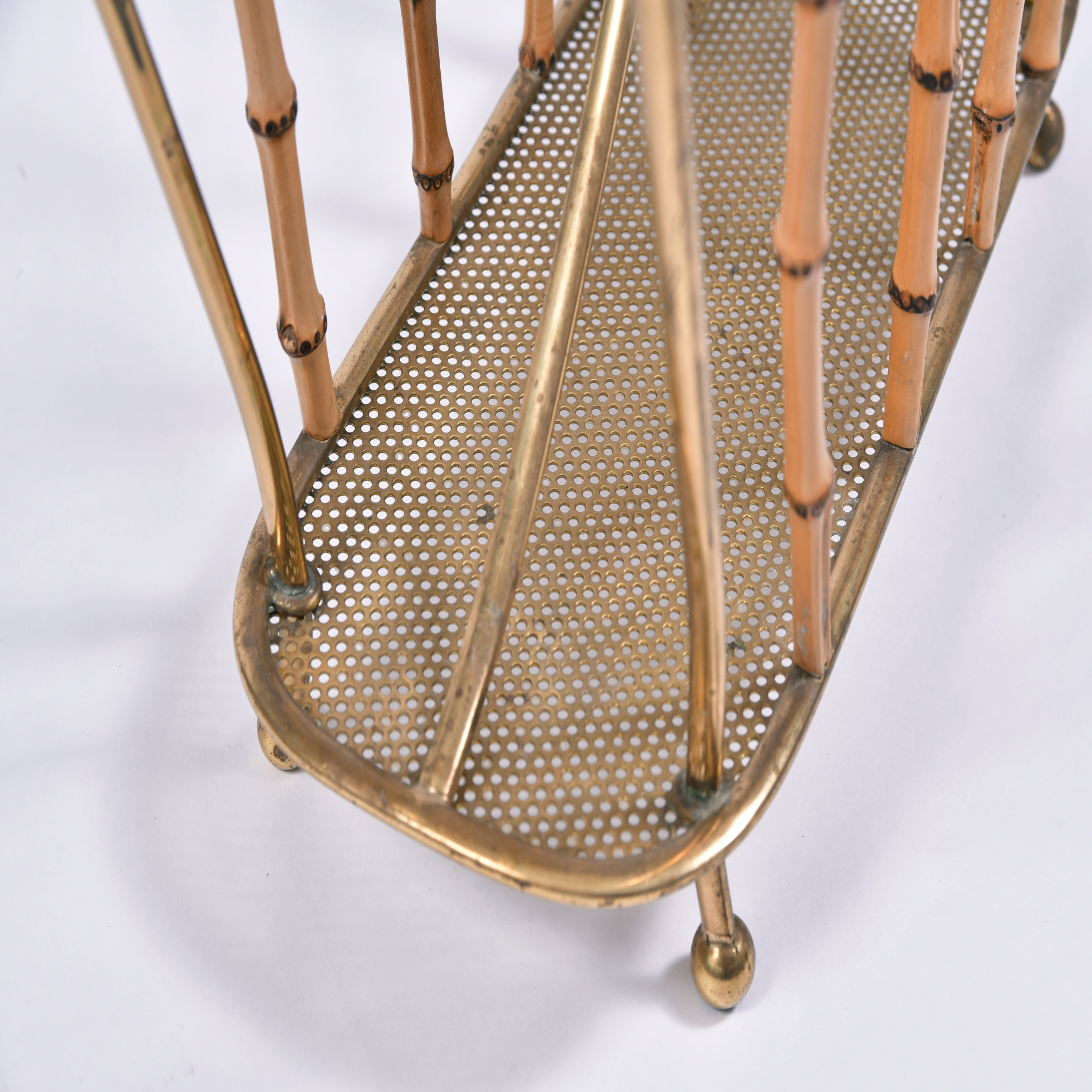 The image for Italian Bamboo Magazine Rack 4 Final