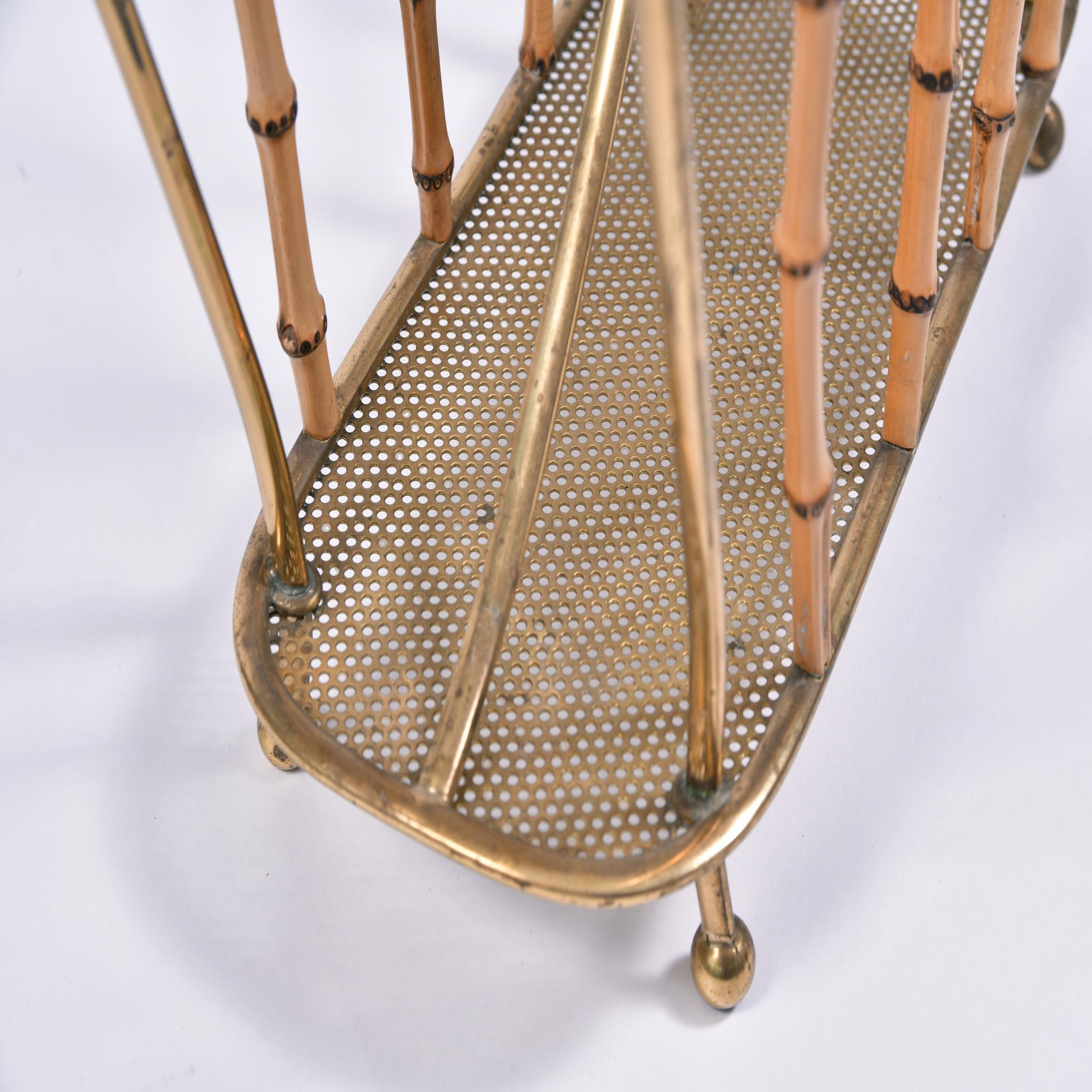 Italian Bamboo Magazine Rack 4 Final
