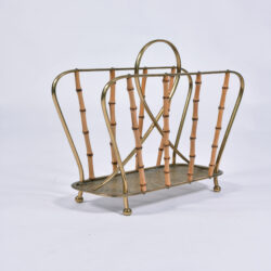 The image for Italian Bamboo Magazine Rack 1 Final