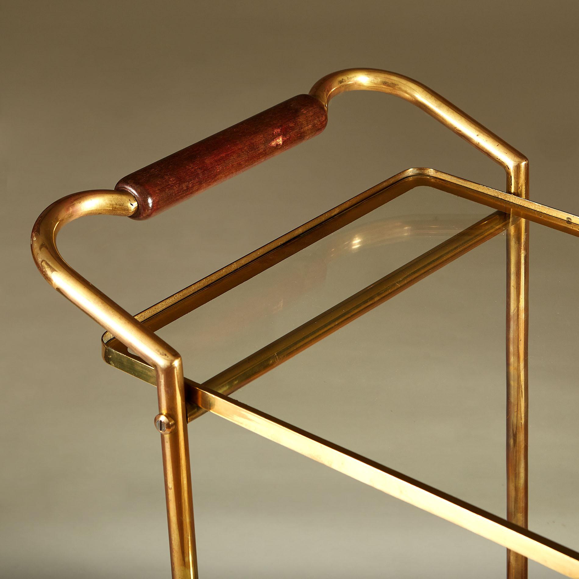 Italian Brass And Mahogany Drinks Trolley 20210225 Valerie Wade 3 140 V1
