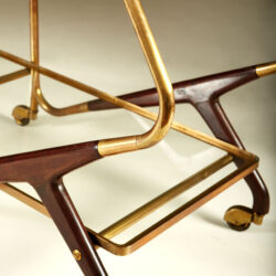 The image for Italian Brass And Mahogany Drinks Trolley 20210225 Valerie Wade 3 135 V1
