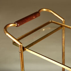 The image for Italian Brass And Mahogany Drinks Trolley 20210225 Valerie Wade 3 140 V1