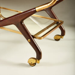 The image for Italian Brass And Mahogany Drinks Trolley 20210225 Valerie Wade 3 141 V1