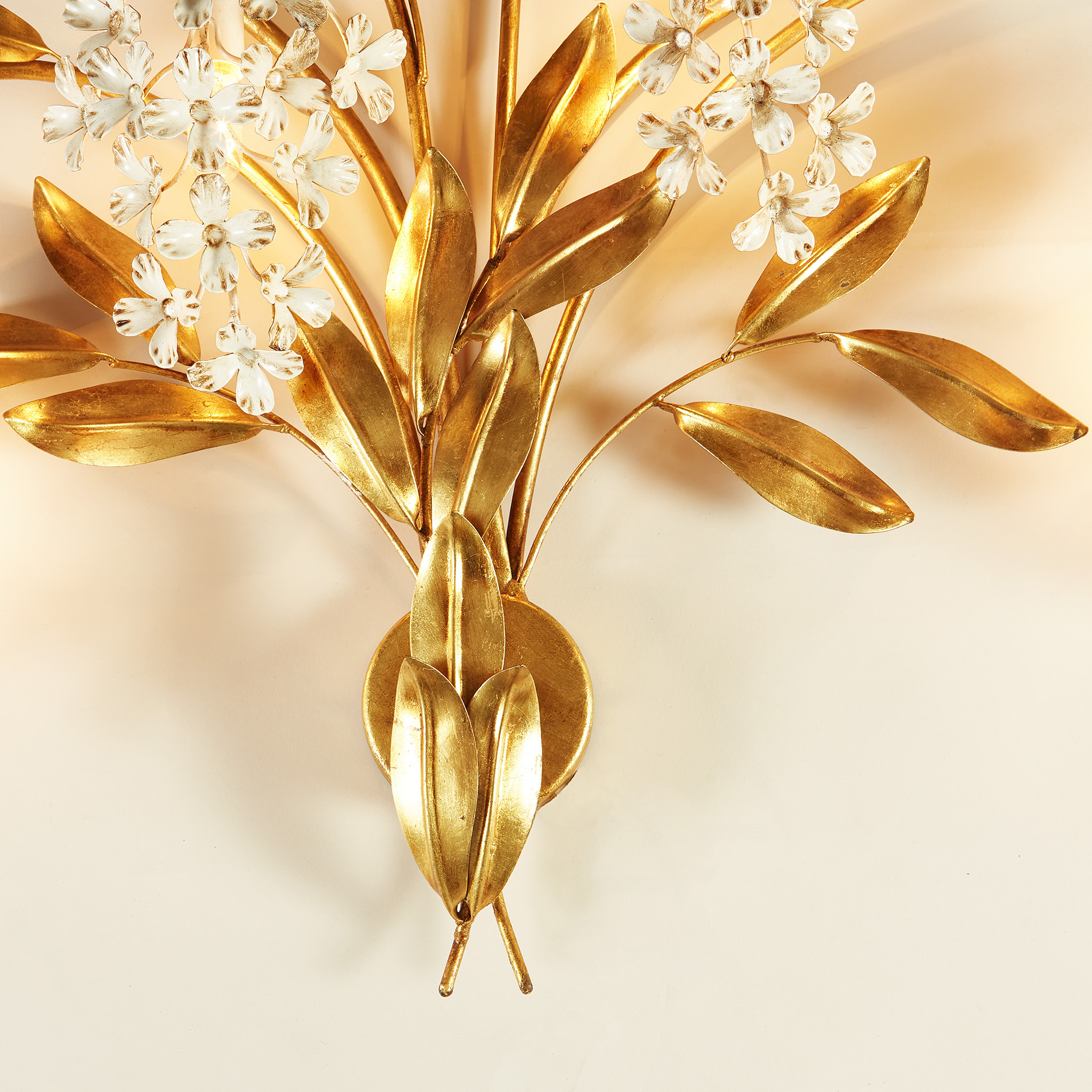 The image for Gold Wisteria Wall Light 20210427 0139 V1