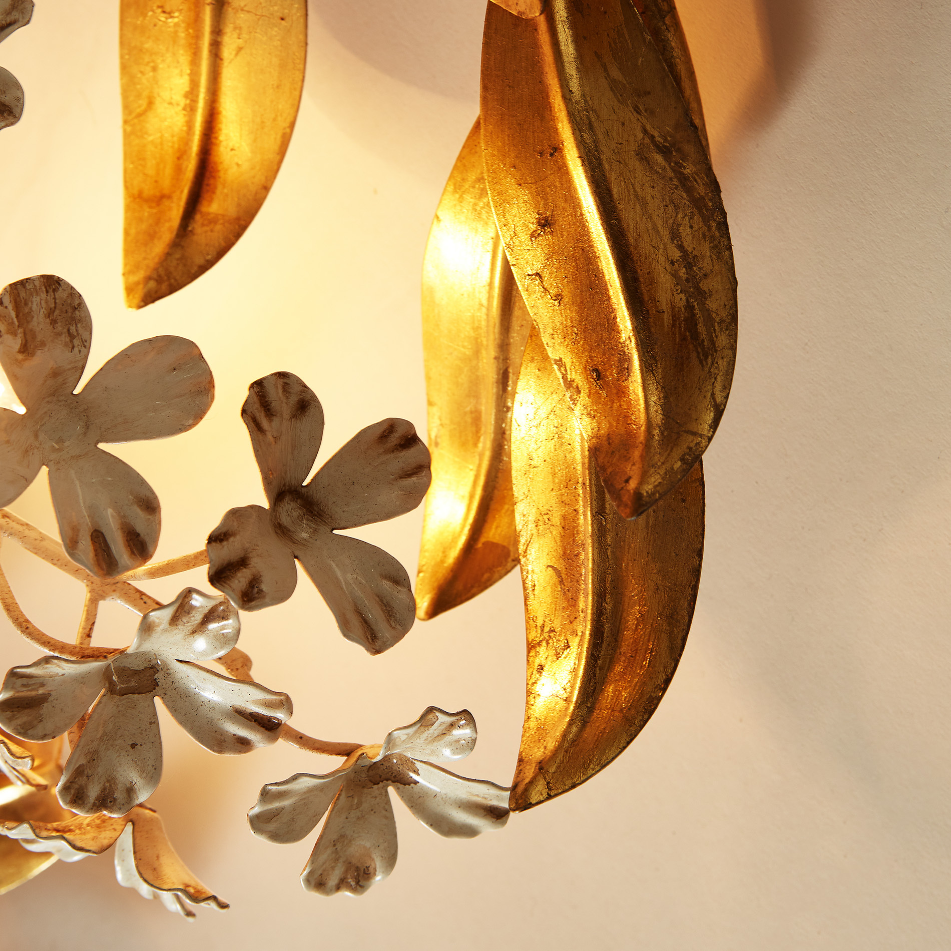 The image for Gold Wisteria Wall Light 20210427 0142 V1