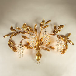 The image for Gold Wisteria Wall Light 20210427 0128 V1