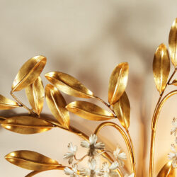 The image for Gold Wisteria Wall Light 20210427 0137 V1