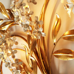 The image for Gold Wisteria Wall Light 20210427 0141 V1