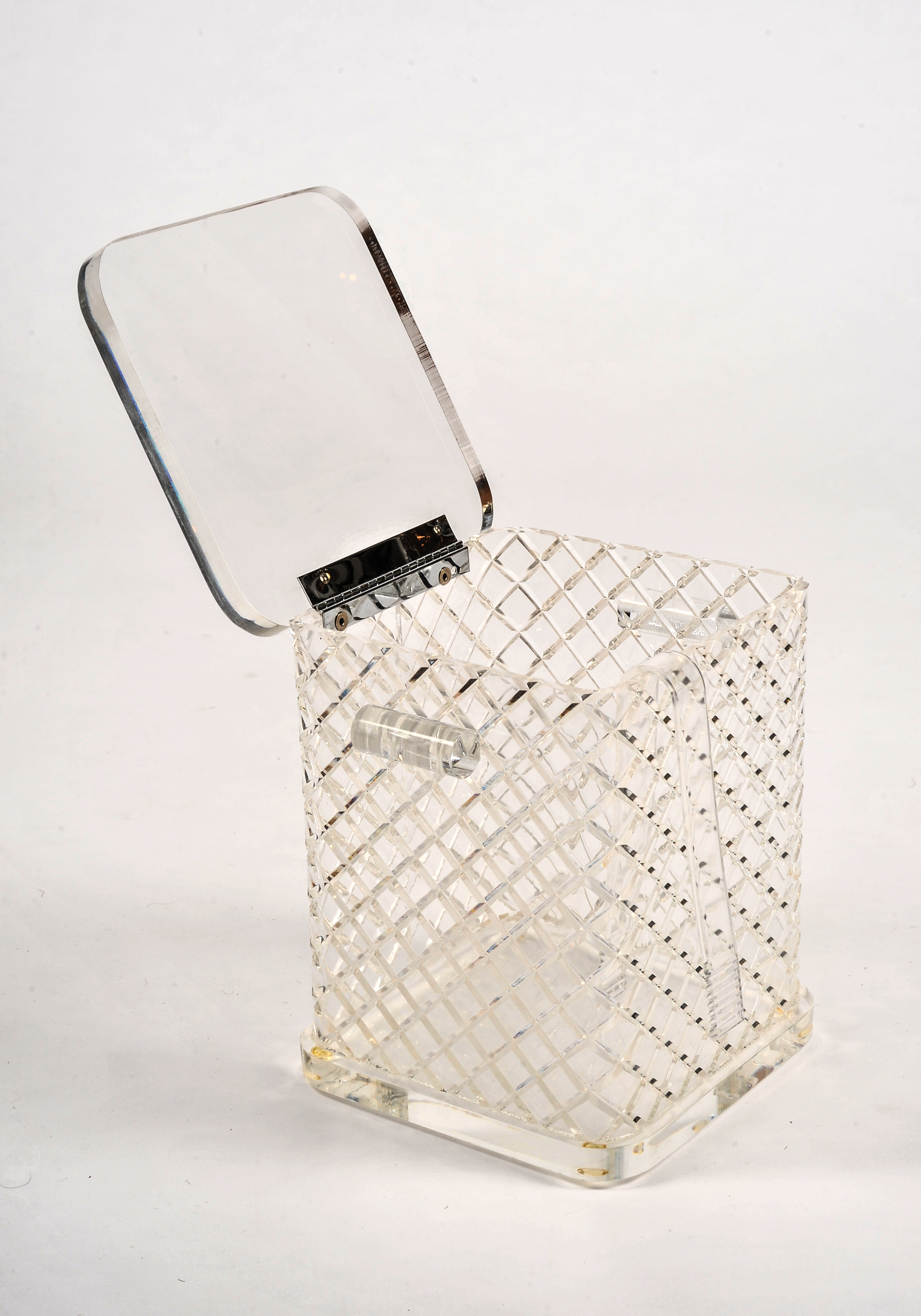 The image for Lucite Ice Bucket Squares3