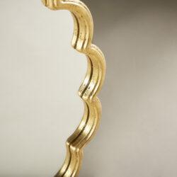 The image for Gold Flower Mirror 0149 V1