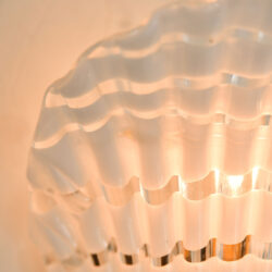 The image for Pair Murano Fluted Wall Lights 05