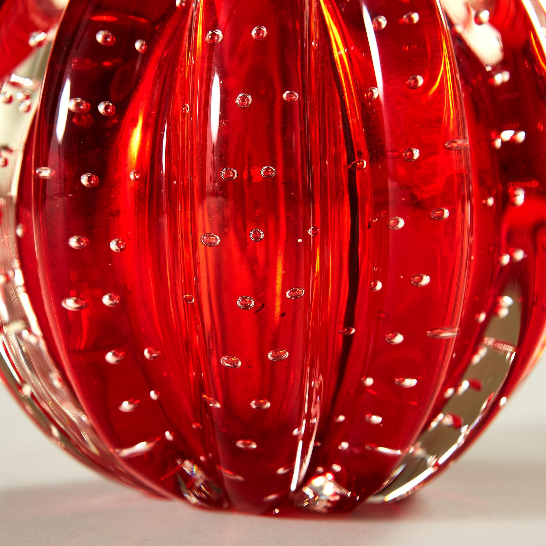 Red Murano Ball Lamp 20210225 Valerie Wade 3 075 V1